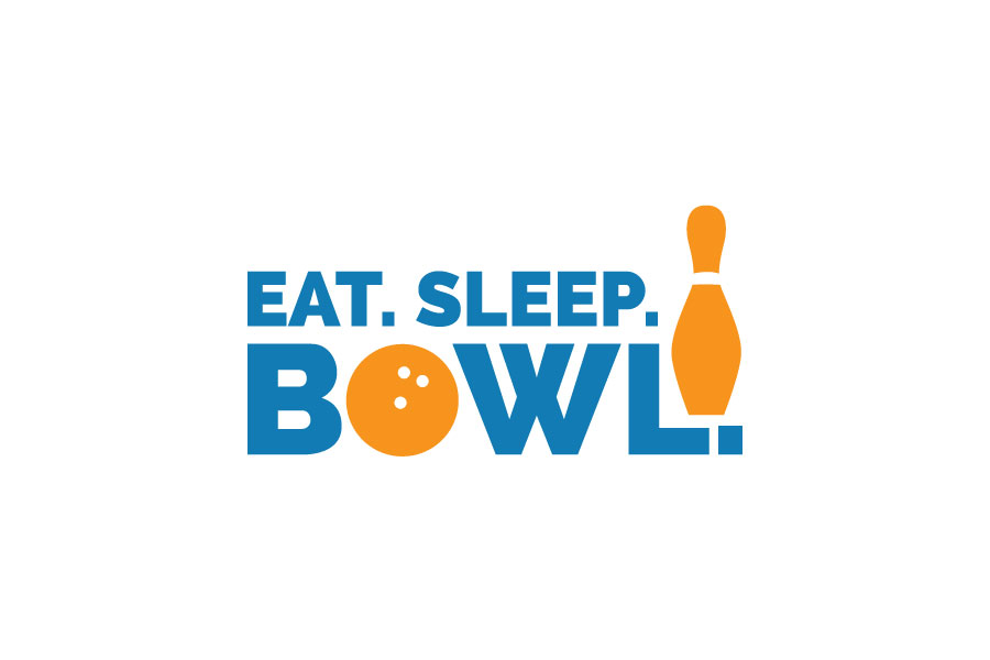 Eat Sleep Bowl logo